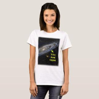 Sie sind hier in der Galaxie T-Shirt