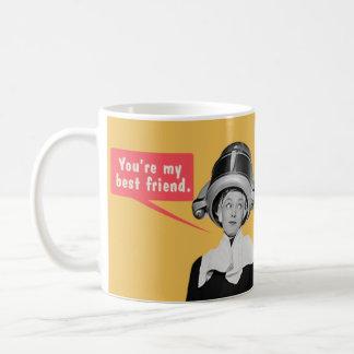 Sie sind mein bester Freund. /Bin ich Ihr nur Tasse