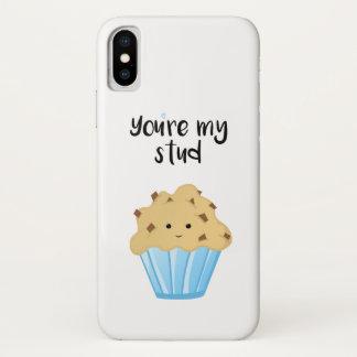 Sie sind mein Bolzen MUFFIN - rufen Sie Fall an iPhone X Hülle