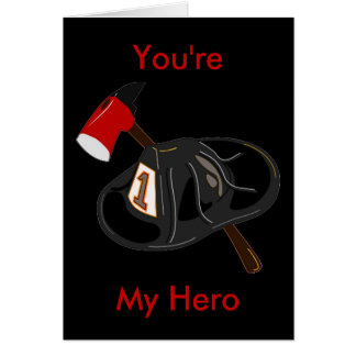 Sie sind mein Held Karte