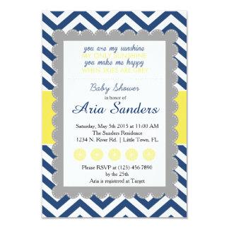Sie sind meine Sonnenschein-Babyparty 8,9 X 12,7 Cm Einladungskarte