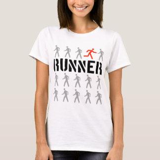 Sie sind nicht eine der Mengen-Frauen - helles T-Shirt