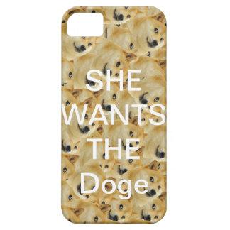 SIE WILL DEN Doge Iphone 5/5s Fall iPhone 5 Hüllen