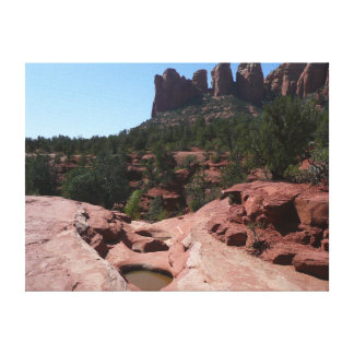 Sieben heilige Pools in Sedona Arizona Leinwanddruck