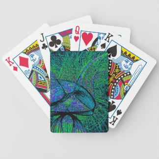 Siebzigerjahre shroom Liebe Spielkarten