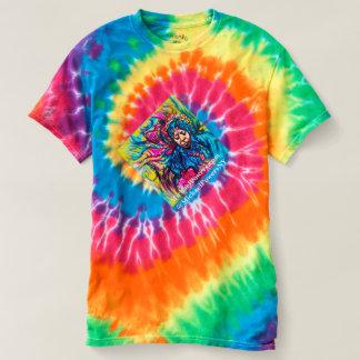 Siebzigerjahre Tifärbung DREHBESCHLEUNIGUNG T-shirt