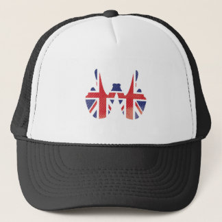 Sieger übergibt Großbritannien Truckerkappe