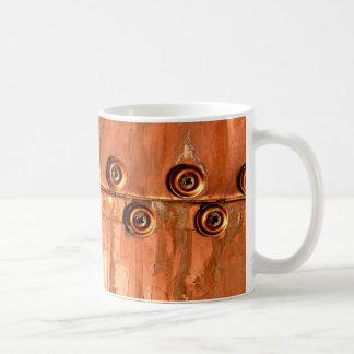 Sieht wie Kupfer mit Niet-Grungy Beschaffenheit Tasse