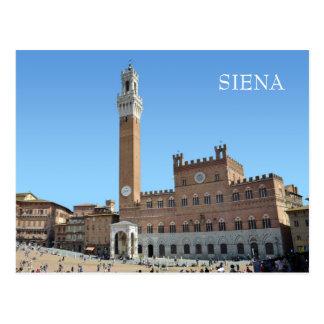 Siena, Italien Postkarte