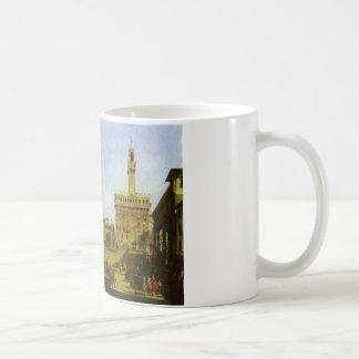 Signoria Quadrat in Florenz durch Bernardo Kaffeetasse