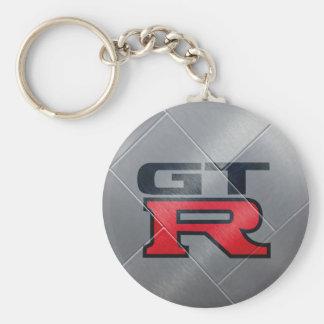 Silber GT-r Schlüsselanhänger