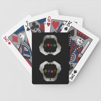Silber-und GoldPoker-Haifisch-Karten Bicycle Spielkarten