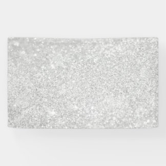 Silberne Diamant-Art Banner