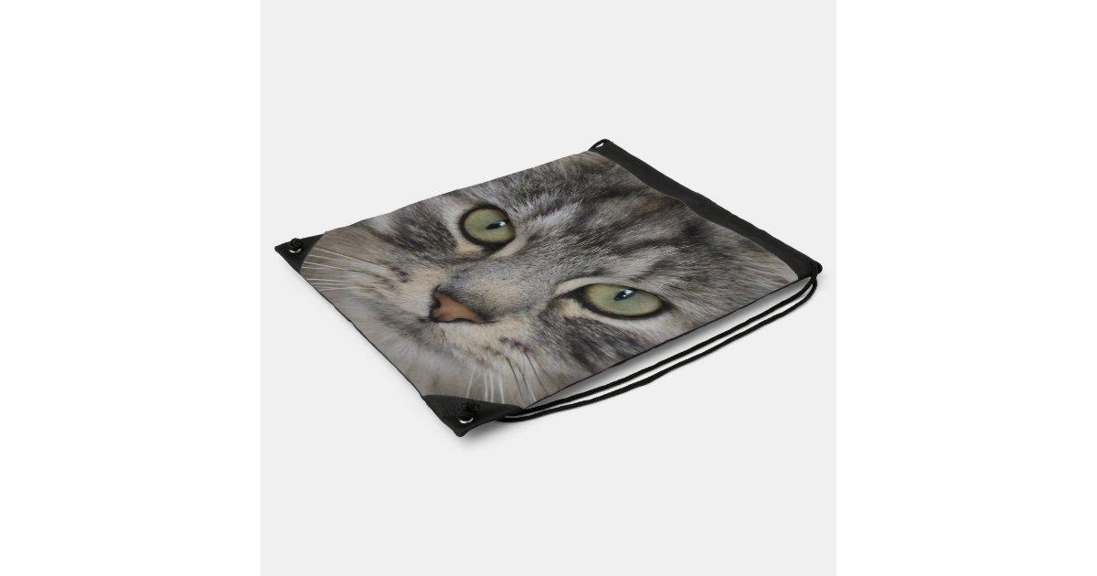 silberne persische katzen gesichtdrawstring tasche sportbeutel. Black Bedroom Furniture Sets. Home Design Ideas
