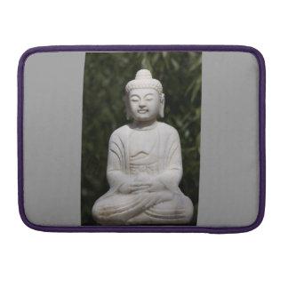 Silberne Prohülse Grau-Buddhas Macbook Sleeves Für MacBook Pro