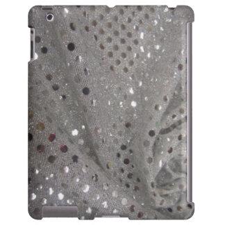 Silberner Bling iPad Fall