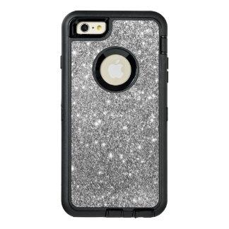 Silberner Glitzer-Druck-funkelnder Telefon-Kasten OtterBox iPhone 6/6s Plus Hülle