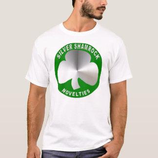 Silberner Kleeblatt-Neuheits-T - Shirt