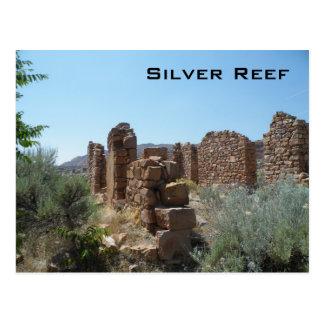 Silbernes Riff Postkarte