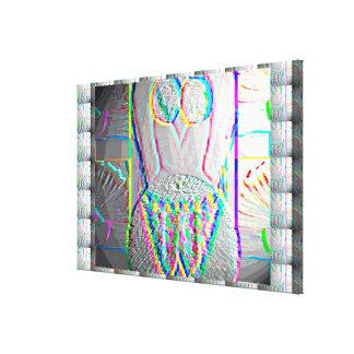 Silk Straßen-Schönheits-Grafiken Leinwanddruck