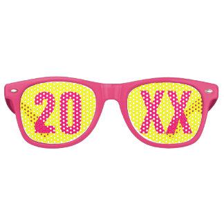 Silvester-Party Retro Sonnenbrillen