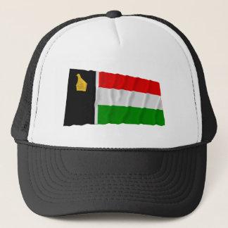 Simbabwe Rhodesien, das Flag (1979, wellenartig Truckerkappe
