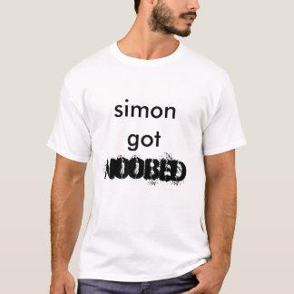Simon erhielt, N00bed T-Shirt