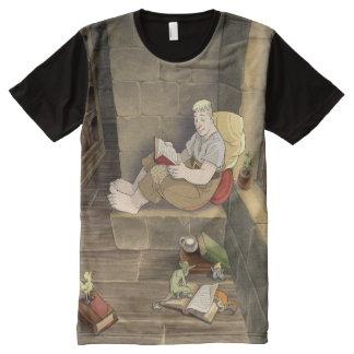 Simon-Lesung T-Shirt Mit Komplett Bedruckbarer Vorderseite