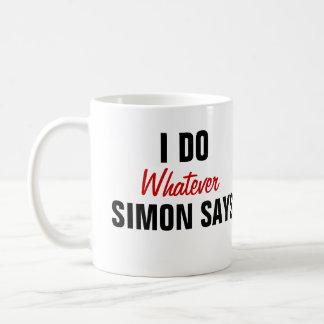 Simon sagt tasse