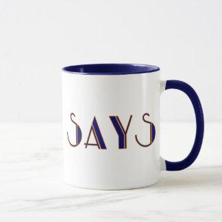 """Simon sagt "" Tasse"