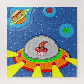 Simon und sein Raumschiff Puzzle