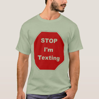 Simsen Sie beim Gehen T-Shirt