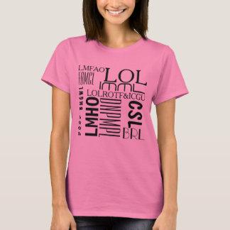 Simsen Sie Lachen T-Shirt