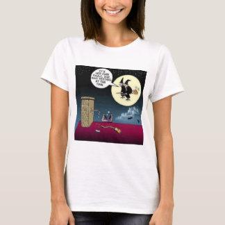 Simsen Sie und einen Besen reiten T-Shirt