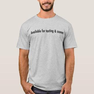 Simsen Sie und Scones T-Shirt