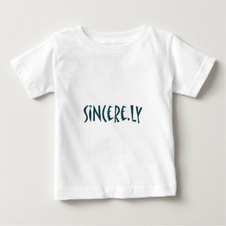 sincere.ly baby t-shirt