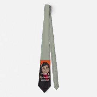 Single-Bild-Foto-lustiger Personalisierte Krawatten