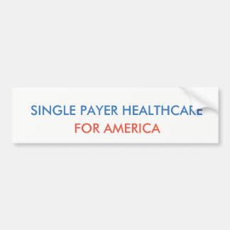 Single-Zahler-Gesundheitswesen Autoaufkleber