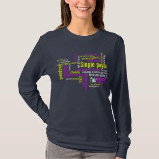 Single-Zahler Wort-Wolke T-Shirt
