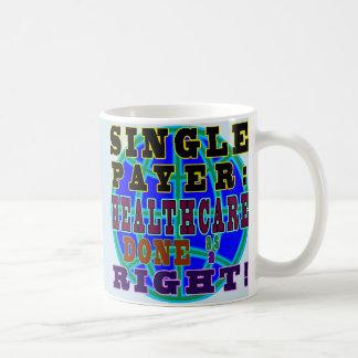 Singlezahler-Kaffee-Tasse Tasse