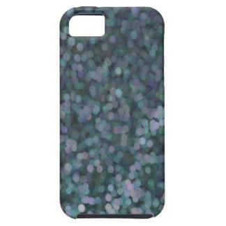 Singrün-Blau gemalter Glitzer-Schimmer Hülle Fürs iPhone 5