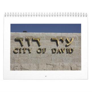 Sítios Arqueológicos EM Israel Kalender