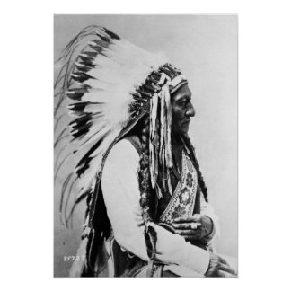 Sitting Bull, ein Hunkpapa Sioux Poster