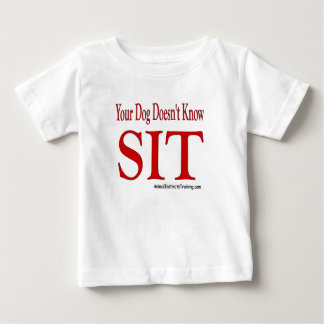 sitzen Sie Baby T-shirt