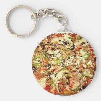 SIZILIANISCHE PIZZA-TORTE STANDARD RUNDER SCHLÜSSELANHÄNGER
