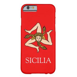 Sizilianischer Triskelion kundenspezifischer Barely There iPhone 6 Hülle