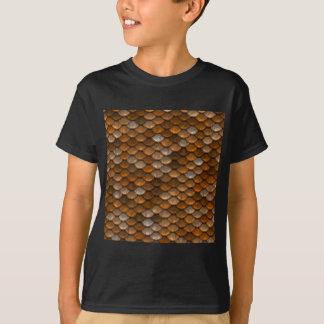 Skala-Muster T-Shirt