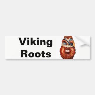 Skandinavier-Viking-Wurzeln Autoaufkleber