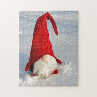 Skandinavischer WeihnachtsGnome Puzzle