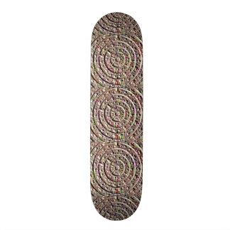 Skate Borarding Plattform KUNST n Grafik durch 19,7 Cm Skateboard Deck